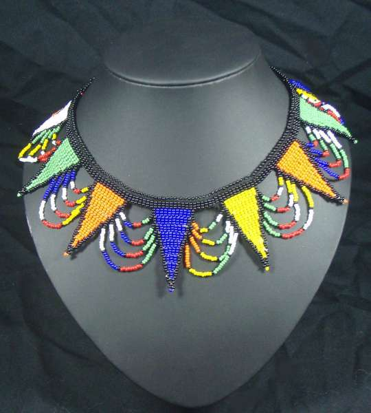 Traditional Zulu Beaded Necklace